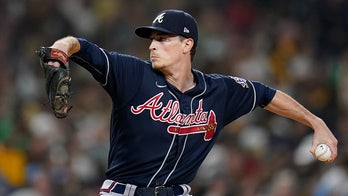 Fried brilliant in 3-hitter, Braves silence Padres 4-0