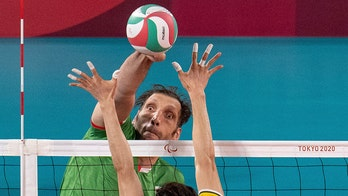 Iran's 8-foot sitting volleyball star Morteza Mehrzad leads team to Paralympic semifinals