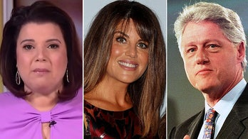 'The View's' Ana Navarro claims Democrats today would hold Bill Clinton accountable for Lewinsky affair