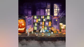 Halloween advent calendars for kids to count down to Oct. 31