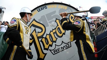 Purdue's Big Bass Drum sidelined for football game vs. Notre Dame