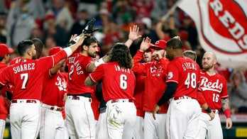 Castellanos solo homer in 9th lifts Reds over Nationals 7-6
