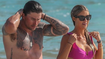 Christina Haack shows off sparkler on her finger during beach day amid engagement announcement