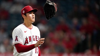 Ohtani strikes out 8 on 117 pitches, Angels beat Rangers 3-2