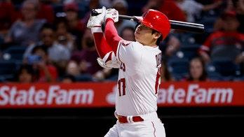 Ohtani hits MLB-high 43rd HR, Suarez CG as Angels beat Texas