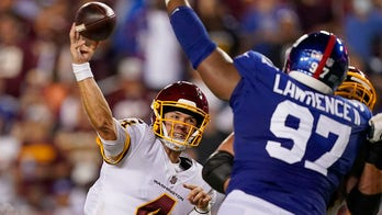 Washington takes advantage of Giants' miscues in dramatic Week 2 victory