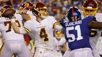 Taylor Heinicke's Washington teammates heap praise on quarterback