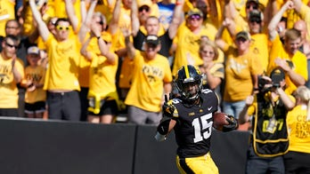 Goodson runs for 153 yards, 3 TDs in No. 5 Iowa's victory