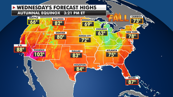 Cold front sweeps East as winds bring elevated fire threat to western US