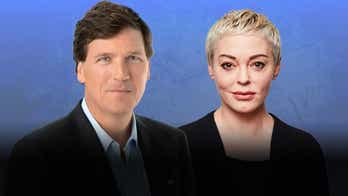 Rose McGowan exposes the dark underbelly of Hollywood, her experience in a cult on 'Tucker Carlson Today'