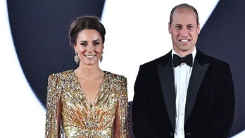 Prince William, Kate Middleton walk red carpet at 'No Time To Die' premiere in London
