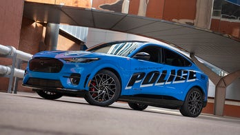 Ford begins testing electric Mustang Mach-E as police car