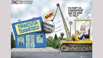 Political cartoon of the day: Biden's wrecking ball