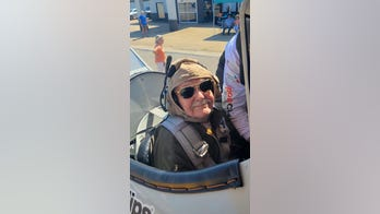 WWII vet hits the skies for his 100th birthday
