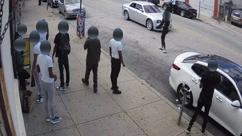 Philadelphia drive-by shooting that killed 1, wounded 5, caught on camera; police seeking suspect vehicle