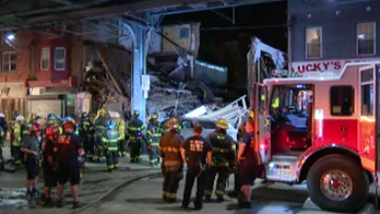 Philadelphia building collapse leaves at least 2 injured: report