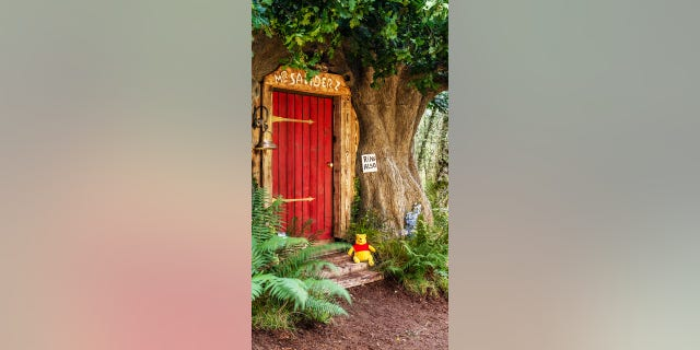 You can stay in Winnie the Pooh's treehouse in the 'Hundred Acre Wood'
