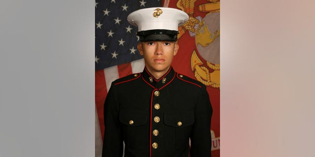An undated photo of Hunter Lopez, 22, a Marine among the 13 우리. service members who were killed in a deadly airport suicide bombing in Kabul, 아프가니스탄, 8월에. 26, 2021.