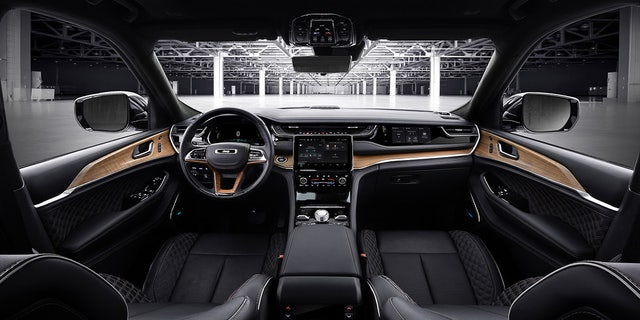 The Grand Cherokee Summit Reserve is the most luxurious model and offers a front passenger side touchscreen video display.