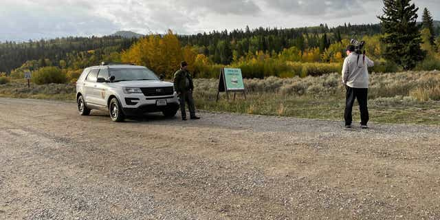 The search for Gabby Petito continued Sunday in Bridger-Teton National Forest in Moose, 와이오밍.
