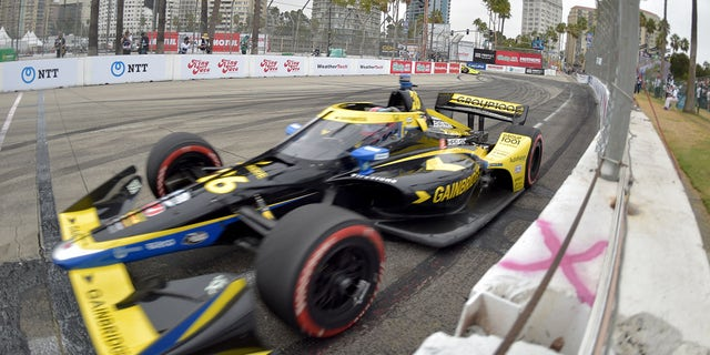 Indycar driver Colton Herta won the final two races of the IndyCar season.