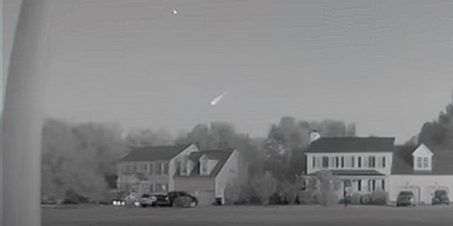 The video provided to the American Meteor Society