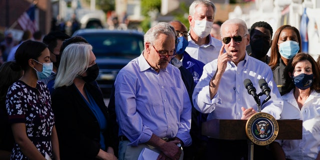Biden heckled on Afghanistan, climate while touring Northeast storm damage: 'All this for a f—ing photo op?'