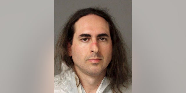 This June 28, 2018, file photo provided by the Anne Arundel Police shows Jarrod Ramos in Annapolis, Maryland.