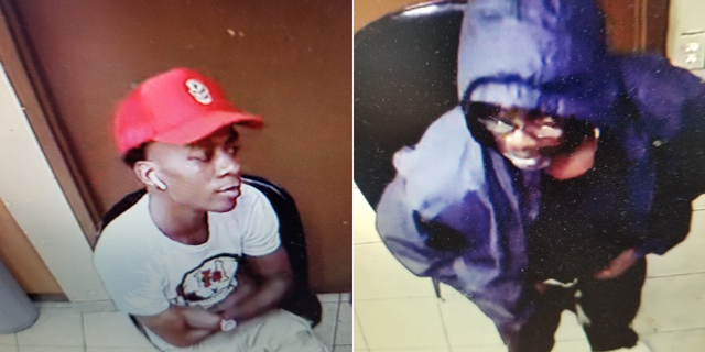 The two suspects being sought by Atlanta Police.