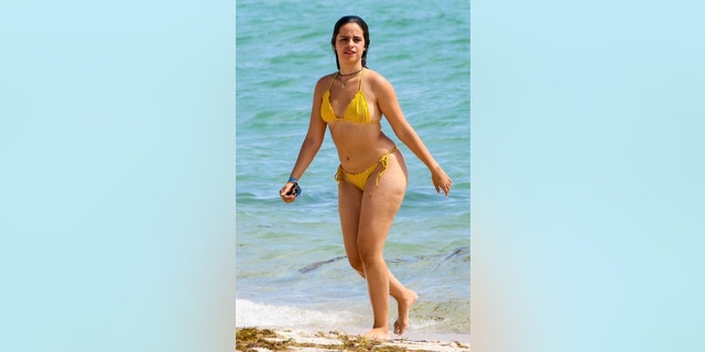 Camila Cabello was pictured back in Miami, Fla., while taking a few days off from her busy schedule.