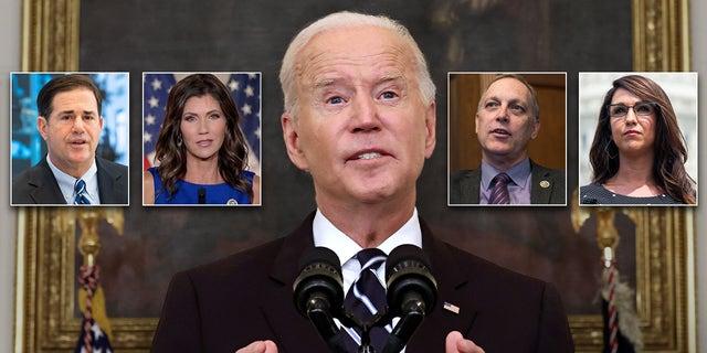 Republicans in Congress, Statehouses decry Biden vaccine mandate