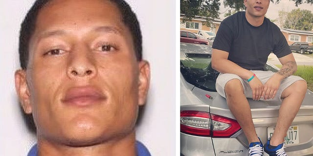 Pictures of Armando Caballero, provided by the Orange County Sheriff's Office