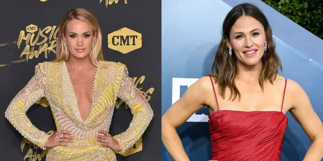 Celebrities including Carrie Underwood and Jennifer Garner honored the victims of the deadly 9/11 attacks on the 20th anniversary.