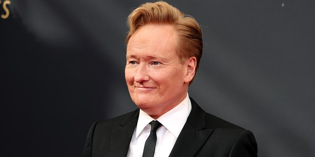 Conan O'Brien's silly antics at the 2021 Emmy Awards went viral.