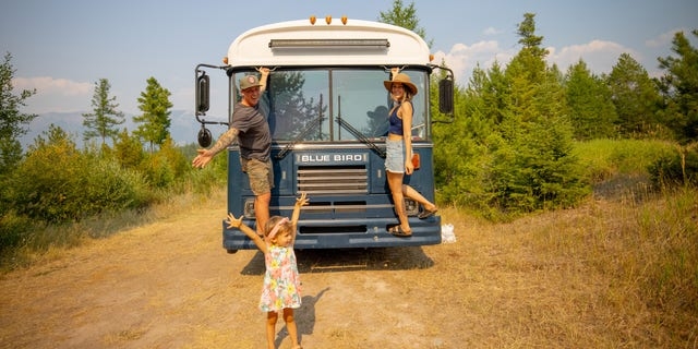 Will and Kristin Watson have been living and traveling around the country in a renovated bus with their almost-3-year-old daughter Roam since April 2019, making them experts at traveling on the road with kids.