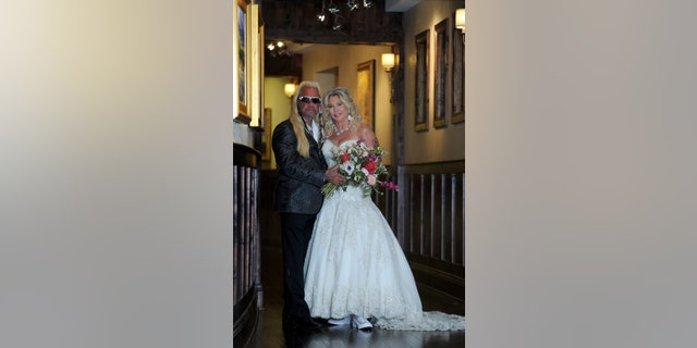 The TV personality, 68, and Francie, 52, tied the knot at The Pinery At The Hill, a luxury resort in Colorado Springs, Colo.