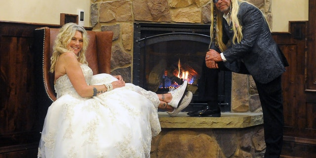 Dog and Francie Frane wed in front of 100 close friends and family.