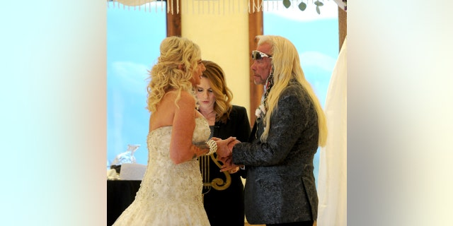 Duane Chapman, aka Dog the Bounty Hunter, marries Francie Frane in an intimate ceremony.