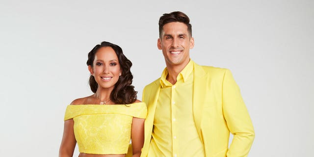 ABC's 'Dancing with the Stars' stars Cheryl Burke and Cody Rigsby.