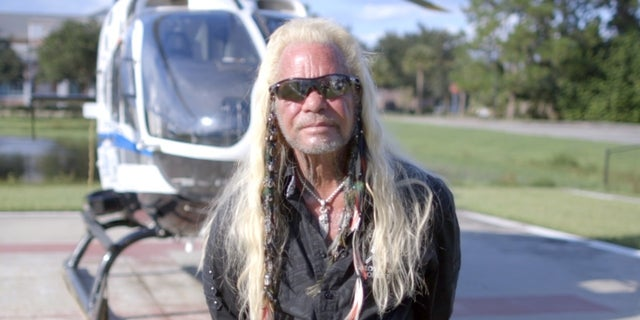 Dog the Bounty Hunter is in North Port, Florida, to assist the search for Brian Laundrie.