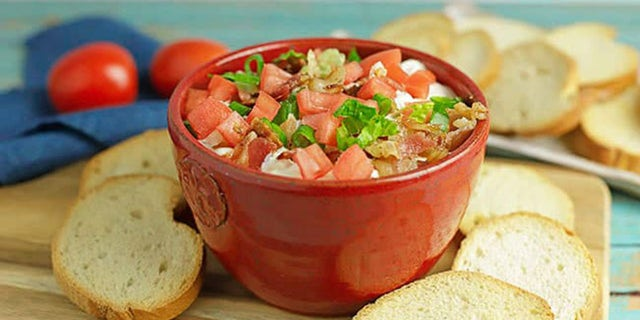 Anne Clark of food blog My Kitchen Serenity shared her Easy BLT Dip recipe with Fox News.