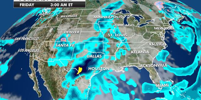 Forecast Radar Friday