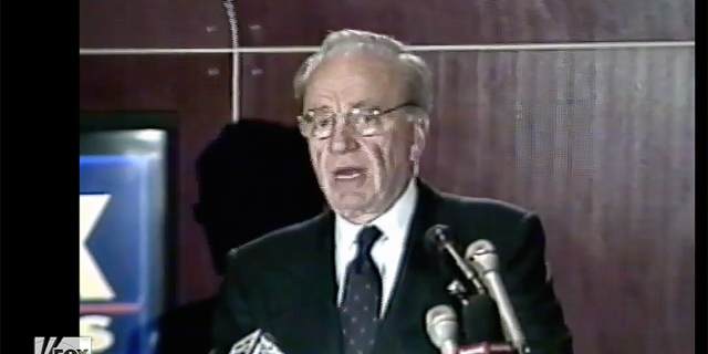 Rupert Murdoch announced his vision for Fox News Channel a few months before it launched in 1996.