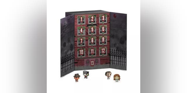 The Funko POP! Advent Calendar: 13-Day Spooky Countdown retails for $29.99.
