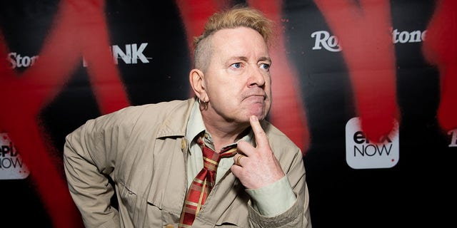 John Lydon aka Johnny Rotten arrives at the premiere of Epix's 'Punk' at SIR on March 04, 2019 in Los Angeles, California.