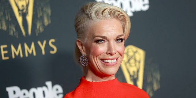 'Ted Lasso' star Hannah Waddingham was the first winner of the night.