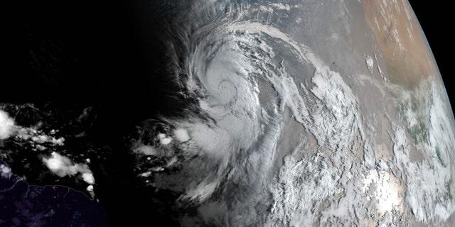 Hurricane Larry on Friday, September 3, 2021. (NOAA NWS National Hurricane Center)