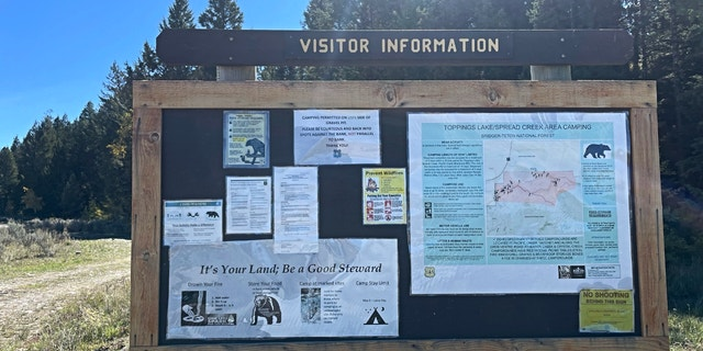 Spread Creek dispersed campgrounds in Bridger-Teton National Forest (Fox News, Audrey Conklin)