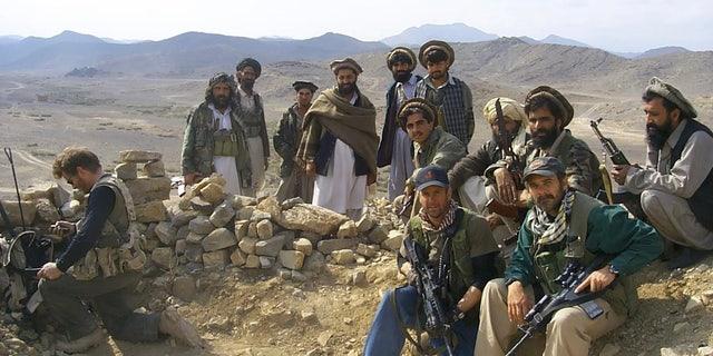 Lt. Col. Perry Blackburn in 2001 in Afghanistan.