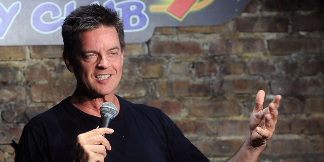 Comedian Jim Breuer performs at The Stress Factory Comedy Club on July 15, 2021 in New Brunswick, New Jersey.